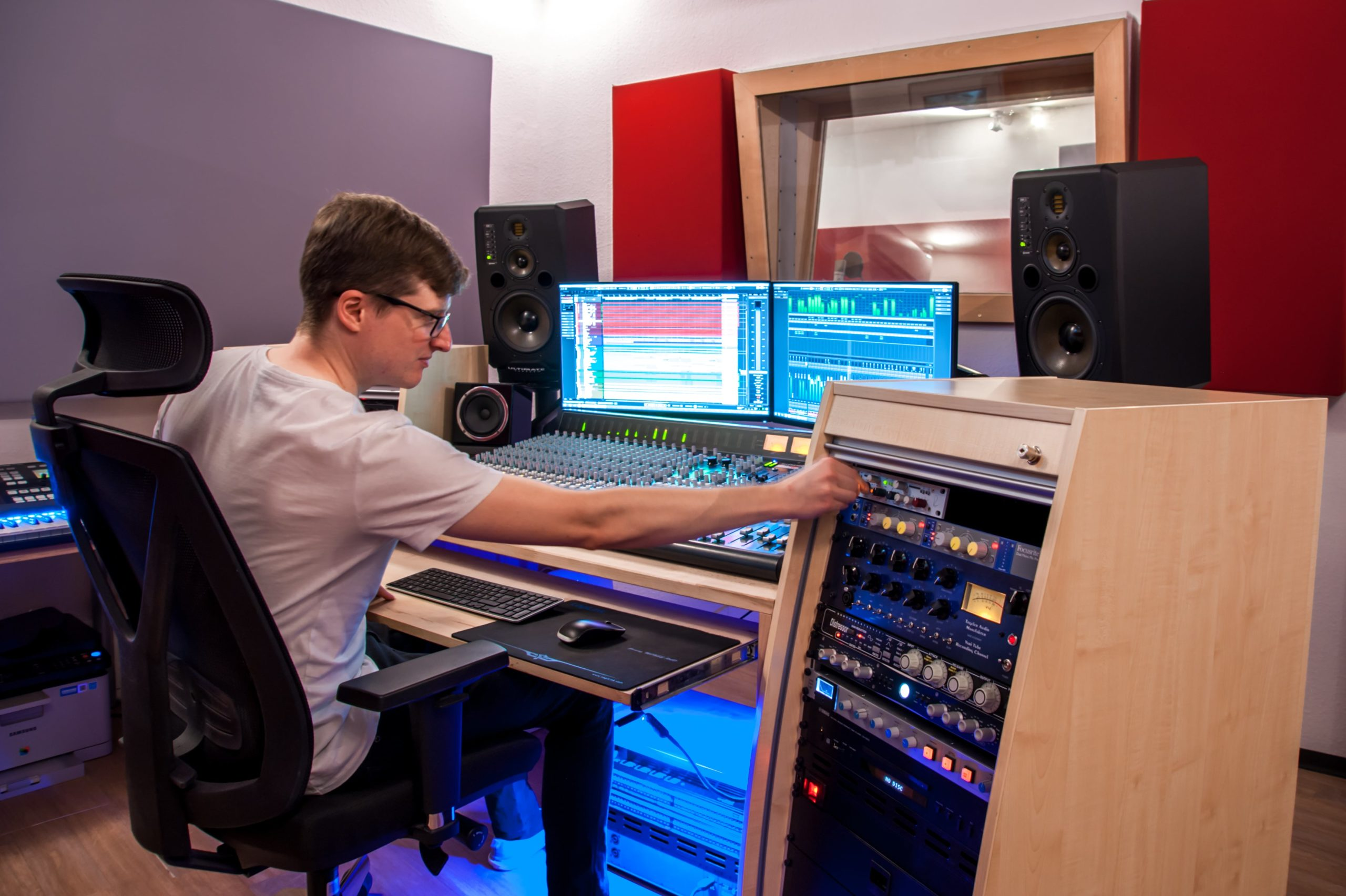 DLA-Studios Tonstudio Mannheim Regie